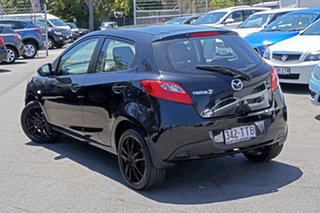 2013 Mazda 2 DE10Y2 MY13 Neo Jet Black 5 Speed Manual Hatchback.