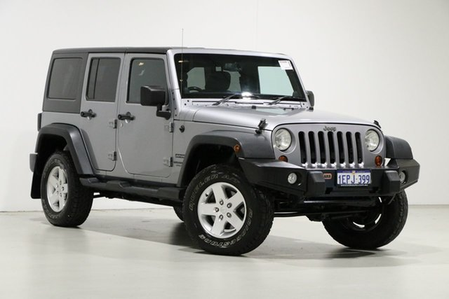 Used Jeep Wrangler Unlimited JK MY15 Sport (4x4), 2014 Jeep Wrangler Unlimited JK MY15 Sport (4x4) Silver 5 Speed Automatic Softtop