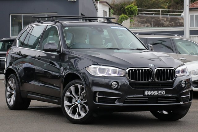 Used BMW X5 F15 xDrive30d, 2013 BMW X5 F15 xDrive30d Black 8 Speed Automatic Wagon