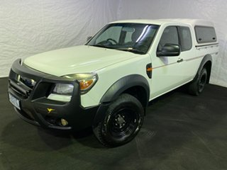 2010 Ford Ranger PK XL Crew Cab 4x2 Hi-Rider White 5 Speed Manual Double Cab Pick Up
