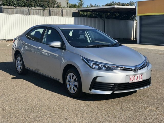 Used Toyota Corolla ZRE172R Ascent S-CVT Chermside, 2019 Toyota Corolla ZRE172R Ascent S-CVT Silver 7 Speed Constant Variable Sedan