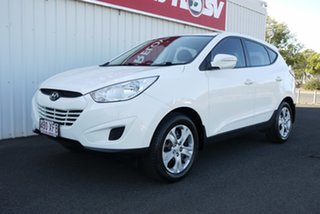 2010 Hyundai ix35 LM Active White 6 Speed Sports Automatic Wagon