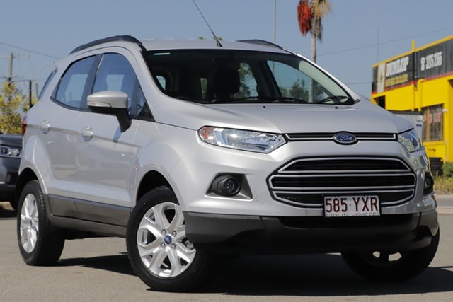 Used Ford Ecosport BK Trend PwrShift, 2017 Ford Ecosport BK Trend PwrShift Moondust Silver 6 Speed Sports Automatic Dual Clutch Wagon
