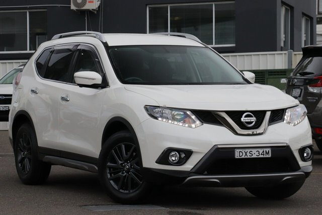 Used Nissan X-Trail T32 ST-L X-tronic 2WD N-SPORT Black, 2016 Nissan X-Trail T32 ST-L X-tronic 2WD N-SPORT Black White 7 Speed Constant Variable Wagon