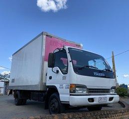 2005 Isuzu NPR200 N SERIES White Truck.