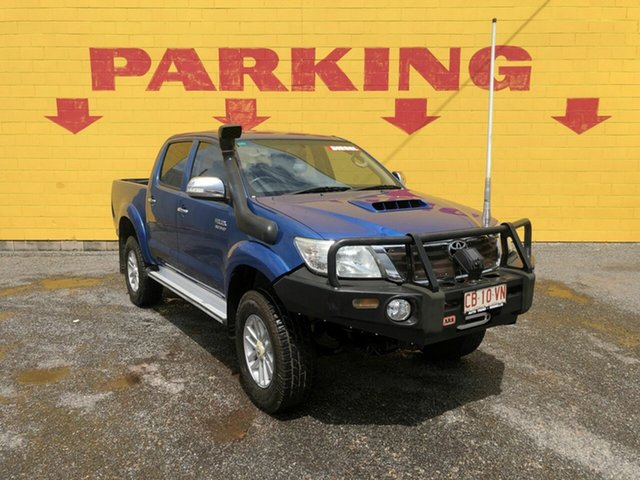 Used Toyota Hilux  , 2013 Toyota Hilux SR5 Blue 5 Speed Manual Dual Cab