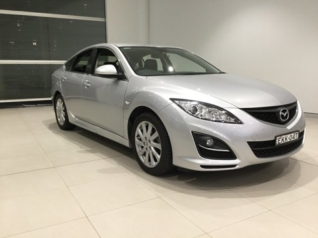Used Mazda 6 GH1052 MY12 Touring, 2012 Mazda 6 GH1052 MY12 Touring Silver 5 Speed Sports Automatic Hatchback