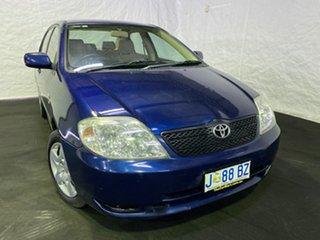 2004 Toyota Corolla ZZE122R Ascent Blue 5 Speed Manual Sedan.