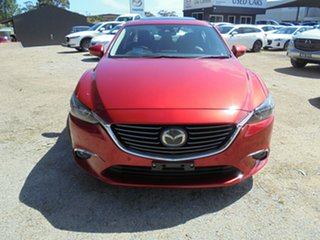 2016 Mazda 6 GJ1022 Atenza SKYACTIV-Drive Red 6 Speed Sports Automatic Sedan.