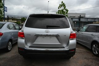 2013 Toyota Kluger GSU40R MY13 Upgrade KX-R (FWD) 5 Seat Silver 5 Speed Automatic Wagon