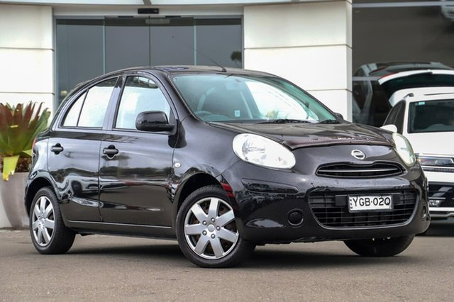 Used Nissan Micra K13 ST-L, 2011 Nissan Micra K13 ST-L Black 5 Speed Manual Hatchback