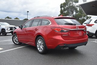 2016 Mazda 6 GL1031 Touring SKYACTIV-Drive Red/Black 6 Speed Sports Automatic Wagon.