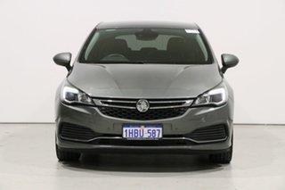 2019 Holden Astra BK MY19 RS-V Grey 6 Speed Automatic Hatchback.
