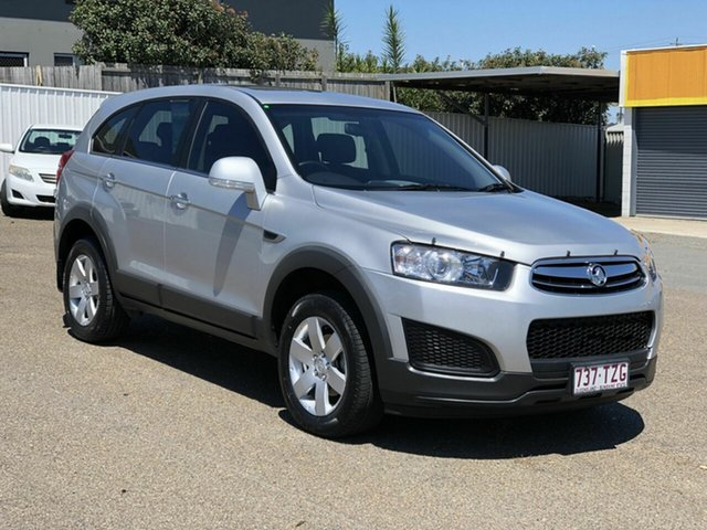 Used Holden Captiva CG MY14 7 LS Chermside, 2013 Holden Captiva CG MY14 7 LS Silver 6 Speed Sports Automatic Wagon