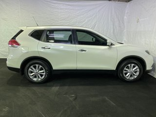 2014 Nissan X-Trail T32 ST X-tronic 2WD White/clotj 7 Speed Constant Variable Wagon.
