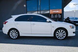 2011 Mitsubishi Lancer CJ MY11 VR-X Sportback White 6 Speed Constant Variable Hatchback.