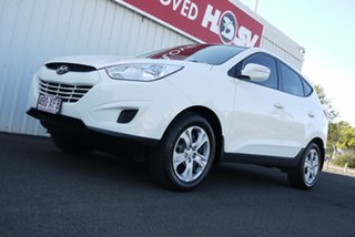 2010 Hyundai ix35 LM Active White 6 Speed Sports Automatic Wagon.