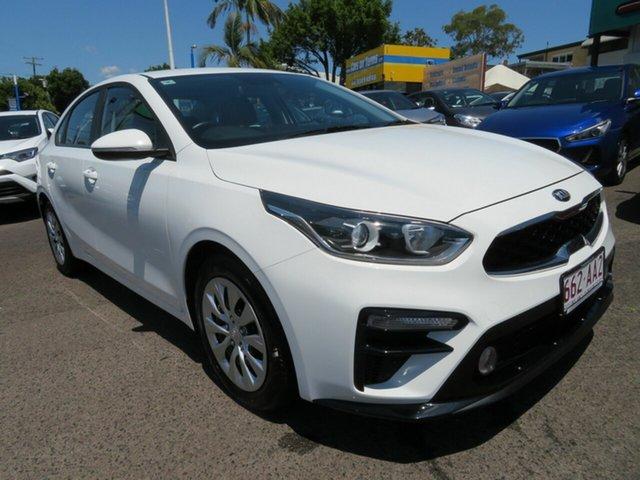 Used Kia Cerato BD MY20 S, 2019 Kia Cerato BD MY20 S White 6 Speed Sports Automatic Sedan