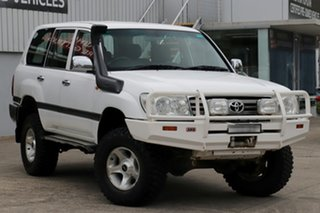 2005 Toyota Landcruiser HZJ105R Upgrade GXL (4x4) Powder White 5 Speed Manual 4x4 Wagon