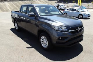 2020 Ssangyong Musso Q201 MY20.5 ELX Crew Cab XLV Grey 6 Speed Sports Automatic Utility