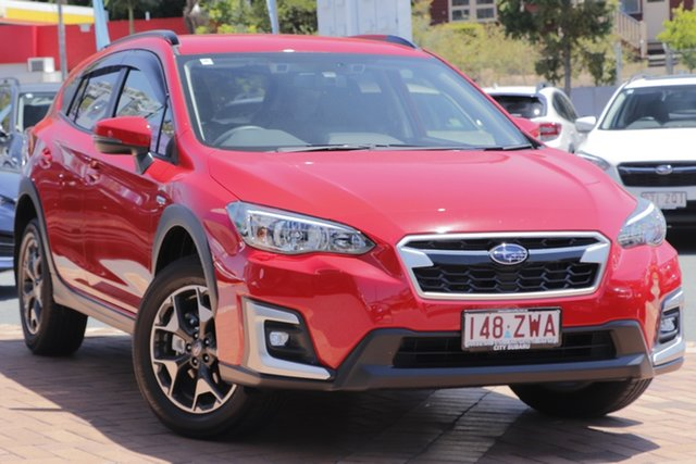 Demo Subaru XV G5X MY20 Hybrid Lineartronic AWD Newstead, 2020 Subaru XV G5X MY20 Hybrid Lineartronic AWD Pure Red 7 Speed Constant Variable Wagon Hybrid