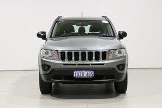 2012 Jeep Compass MK MY12 Sport (4x2) Grey 5 Speed Manual Wagon.
