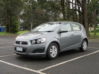 2014 Holden Barina CD CD Satin Steel Grey Automatic Hatchback.