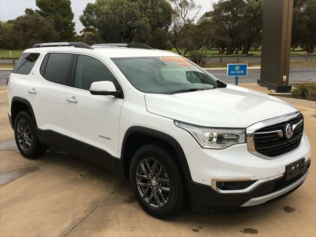 Used Holden Acadia AC MY19 LTZ 2WD Berri, 2019 Holden Acadia AC MY19 LTZ 2WD Summit White 9 Speed Sports Automatic Wagon