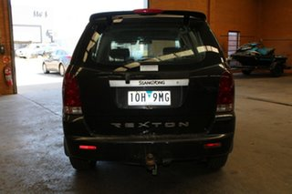 2005 Ssangyong Rexton Y200 RX270 XDI Sport Plus Black 5 Speed Auto Steptronic Wagon