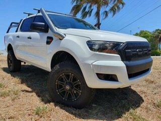 2016 Ford Ranger PX MkII XL Frozen White 6 Speed Sports Automatic Utility.