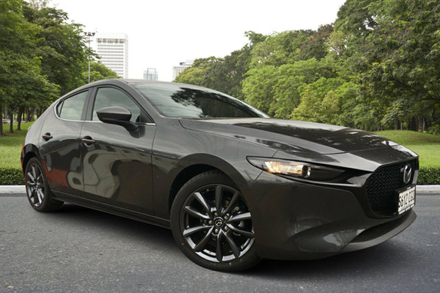 Demo Mazda 3 BP2H7A G20 SKYACTIV-Drive Evolve, 2020 Mazda 3 BP2H7A G20 SKYACTIV-Drive Evolve Machine Grey 6 Speed Sports Automatic Hatchback