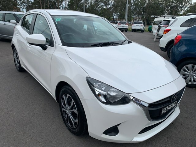 Used Mazda 2 DJ2HAA Neo SKYACTIV-Drive, 2015 Mazda 2 DJ2HAA Neo SKYACTIV-Drive White 6 Speed Sports Automatic Hatchback