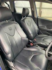 2013 Honda Jazz GE MY13 Vibe Blue 5 Speed Manual Hatchback.