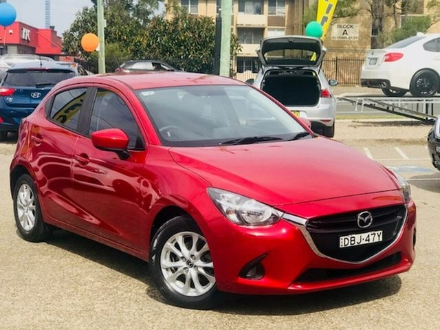 Used Mazda 2 DJ2HA6 Maxx SKYACTIV-MT, 2015 Mazda 2 DJ2HA6 Maxx SKYACTIV-MT Red 6 Speed Manual Hatchback