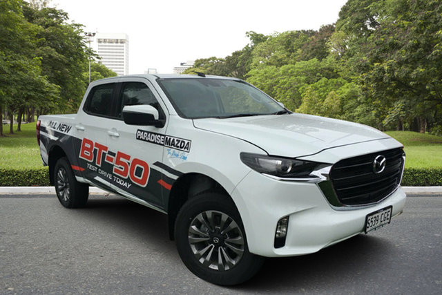 Demo Mazda BT-50 TFS40J XT Paradise, 2020 Mazda BT-50 TFS40J XT Ice White 6 Speed Sports Automatic Utility