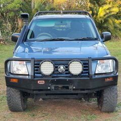 2002 Holden Rodeo TF MY02 LX Crew Cab Blue 5 Speed Manual Utility.