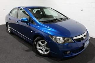 2010 Honda Civic 8th Gen MY10 Limited Edition Blue 5 Speed Automatic Sedan.