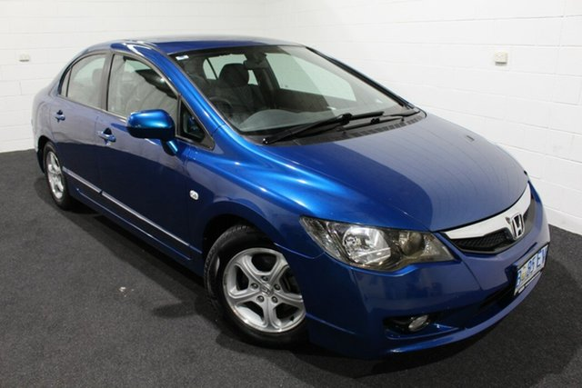 Used Honda Civic 8th Gen MY10 Limited Edition Glenorchy, 2010 Honda Civic 8th Gen MY10 Limited Edition Blue 5 Speed Automatic Sedan