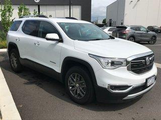 2019 Holden Acadia White Wagon.