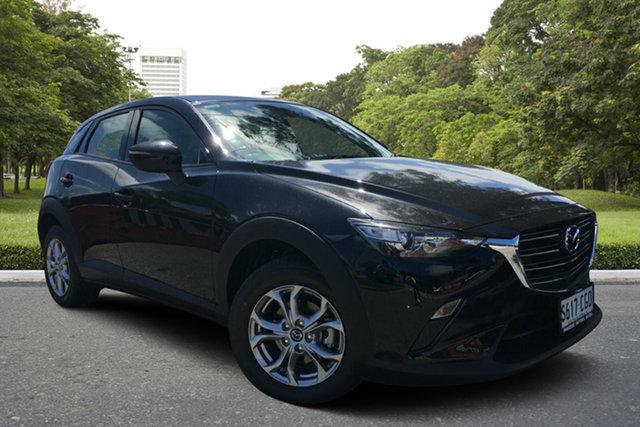 Demo Mazda CX-3 DK2W7A Maxx SKYACTIV-Drive FWD Sport, 2020 Mazda CX-3 DK2W7A Maxx SKYACTIV-Drive FWD Sport Jet Black 6 Speed Sports Automatic Wagon