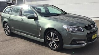 2015 Holden Commodore VF MY15 SV6 Sportwagon Prussian Steel 6 Speed Sports Automatic Wagon.