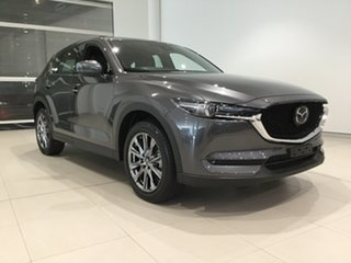 2019 Mazda CX-5 KF4W2A Akera SKYACTIV-Drive i-ACTIV AWD Machine Grey 6 Speed Sports Automatic Wagon.