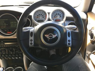 2004 Mini Hatch R53 MY03 Cooper S Black 6 Speed Manual Hatchback
