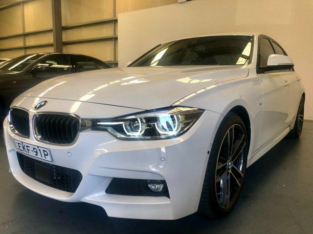 Used BMW 3 Series F30 LCI 330i M Sport, 2017 BMW 3 Series F30 LCI 330i M Sport Alpine White 8 Speed Sports Automatic Sedan