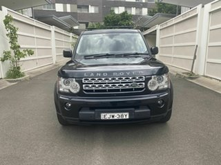 2012 Land Rover Discovery 4 Series 4 MY12 SDV6 CommandShift HSE Black 6 Speed Sports Automatic Wagon.