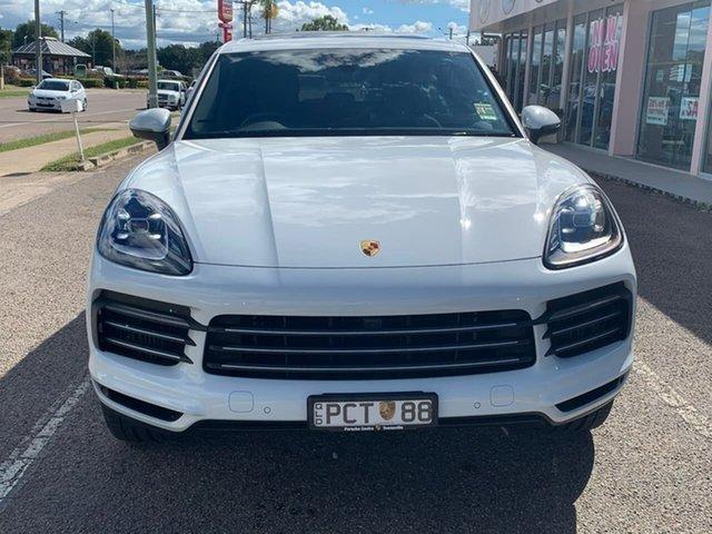 Used Porsche Cayenne 9YA MY20 Tiptronic, 2019 Porsche Cayenne 9YA MY20 Tiptronic White 8 Speed Sports Automatic Wagon