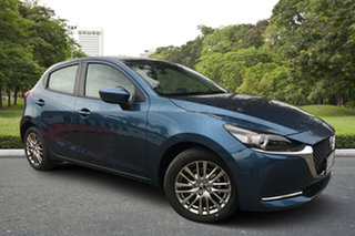 2020 Mazda 2 DJ2HAA G15 SKYACTIV-Drive Evolve Eternal Blue 6 Speed Sports Automatic Hatchback.