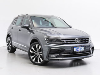 2018 Volkswagen Tiguan 5NA MY18 162 TSI Highline Grey 7 Speed Auto Direct Shift Wagon.