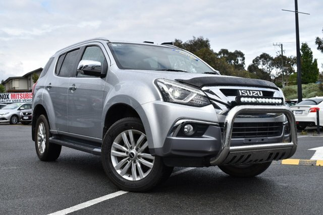 Used Isuzu MU-X MY17 LS-T Rev-Tronic 4x2 Wantirna South, 2017 Isuzu MU-X MY17 LS-T Rev-Tronic 4x2 Silver 6 Speed Sports Automatic Wagon