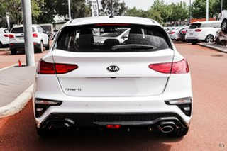 2020 Kia Cerato Hatch S Clear White Sports Automatic Hatchback.